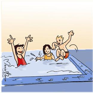Pr vention des algues dans la piscine for Algue dans piscine