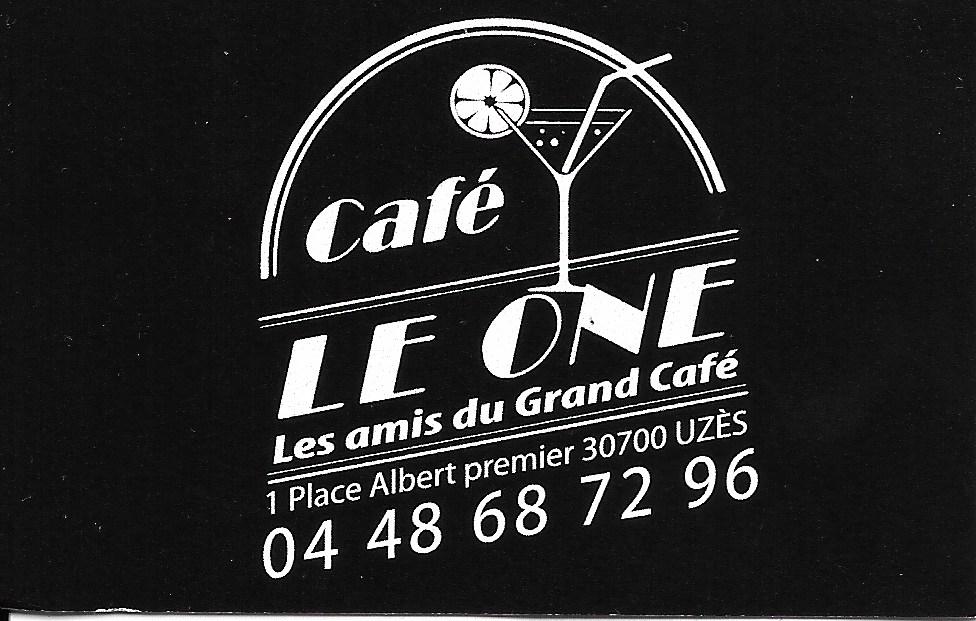 Café Le One à Uzès
